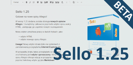 Sello 1.25 BETA